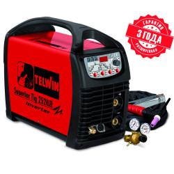 Сварочный аппарат TELWIN SUPERIOR TIG 252 AC/DC HF/LIFT VRD 400V+ACC / 816117